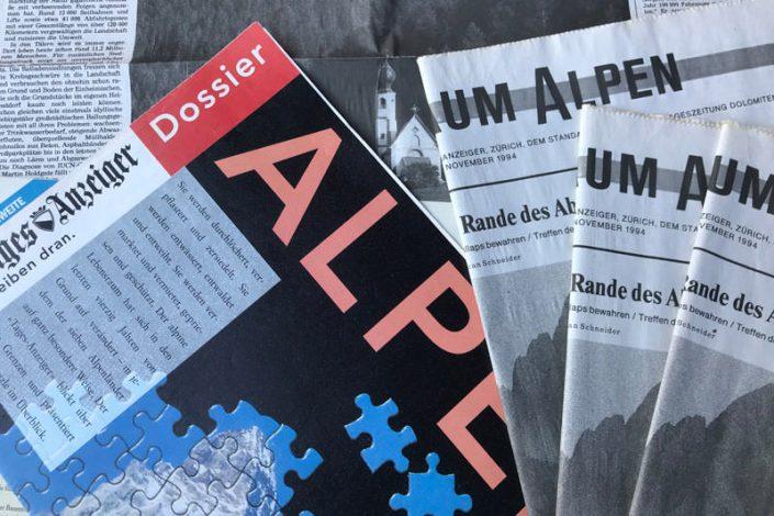 Alpenweite Umwelt-PR: Alpenkonvention CIPRA