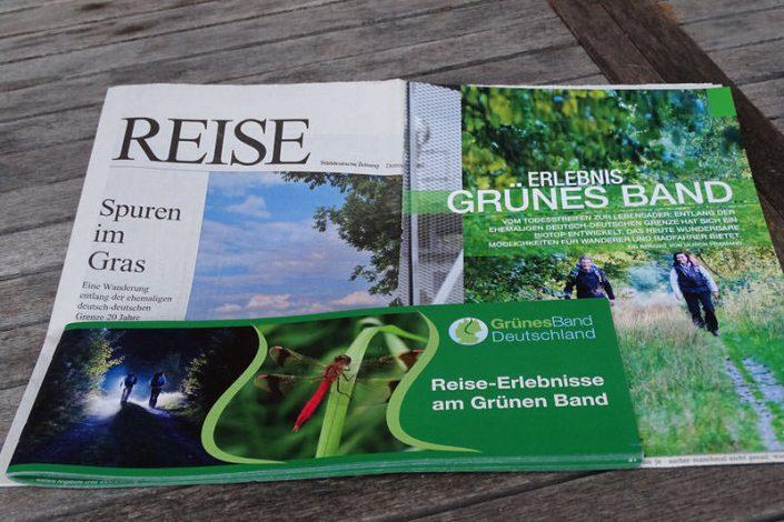 Kommunikations-Konzept: Grünes Band BUND