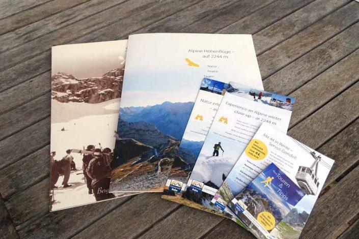 Werbung und PR: Karwendelbahn