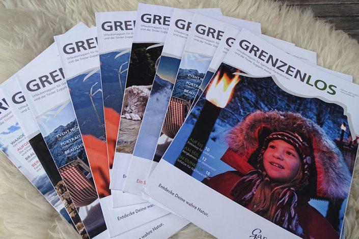 Texte und Publikationen: Gästezeitung Bayern / Tirol