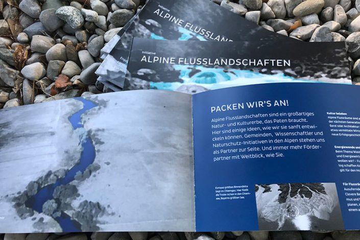Umwelt-Kommunikation: Stiftung Alpine Flusslandschaften