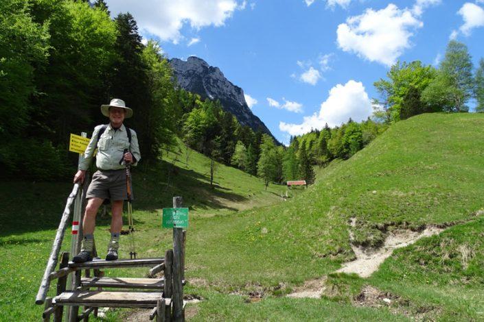 Tourismus-PR: Wandern im Wettersteingebirge