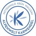 Logo Alpenwelt Karwendel blau
